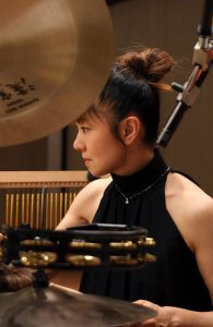 カサメミュージックスクールドラム科講師、根本久子先生の写真