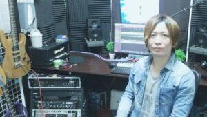カサメミュージックスクールギター科講師、Hayato先生の写真