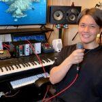 カサメミュージックスクールボーカル科講師、U先生の写真