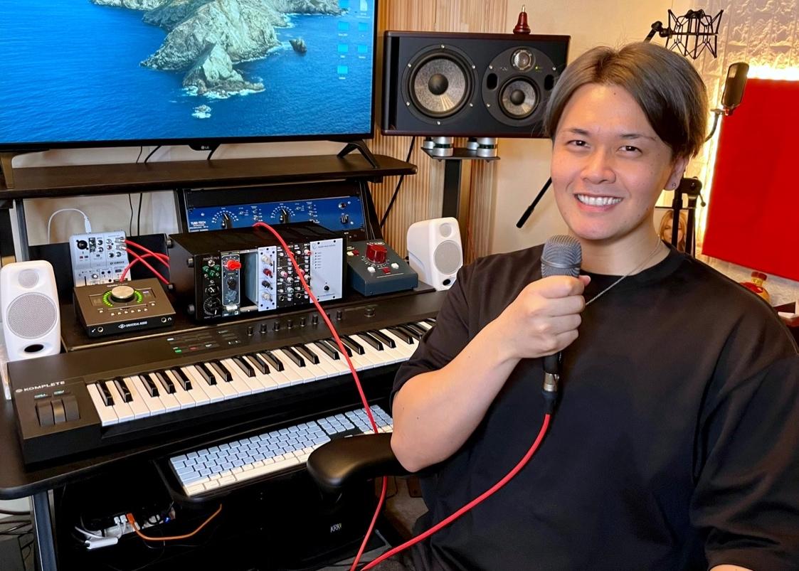 カサメミュージックスクールボーカル科講師、U (ユウ) 先生の写真