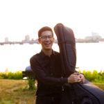 カサメミュージックスクールコントラバス・ウッドベース科、ベース科講師、小玉勇気先生の写真