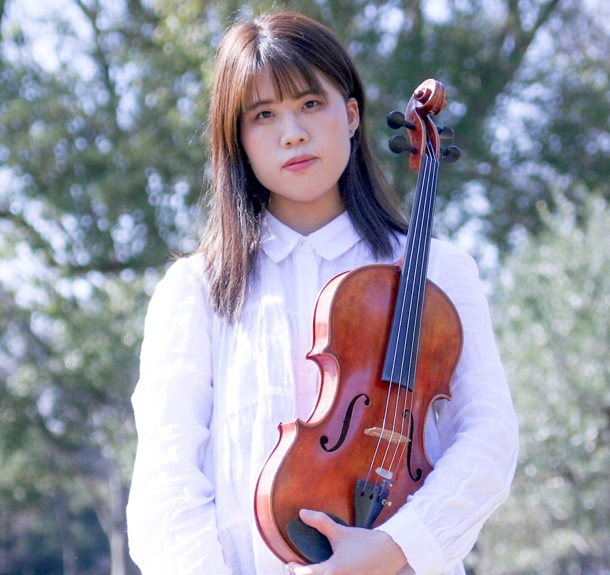 カサメミュージックスクールヴィオラ科講師、志村恵梨子先生の写真