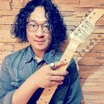 カサメミュージックスクールギター科講師、林勇希先生の写真