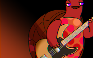 カサメミュージックスクールベース教室のキャラクター