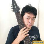 カサメミュージックスクール多弦ギター教室講師、GO先生の写真