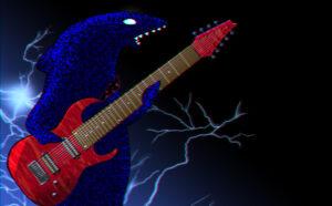 カサメミュージックスクール多弦ギター教室のキャラクター